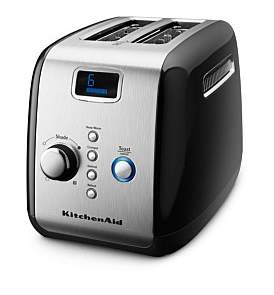 KitchenAid Kmt223 2 Slice Black Toaster