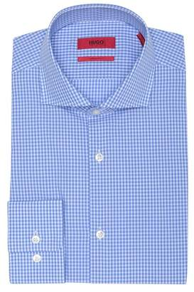 BOSS Check Sharp Fit Dress Shirt