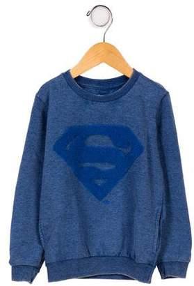 Little Eleven Paris Boys' Embroidered Crew Neck Sweatshirt w/ Tags