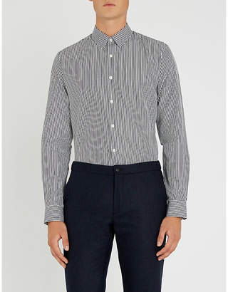 Sandro Striped cotton shirt