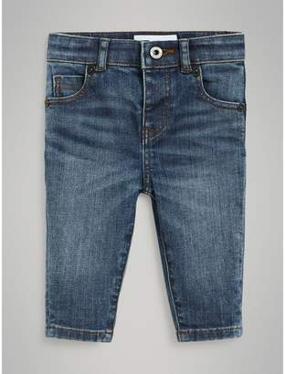 Burberry Childrens Skinny Fit Stretch Denim Jeans
