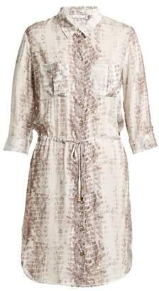 Heidi Klein Saint Barths printed poplin shirt dress