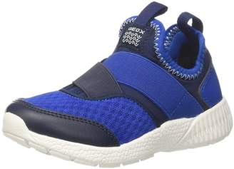 Geox Boy's J SVETH BOY Sneakers, Royal/Lt Blue