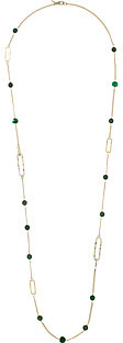 Alexis Bittar Alexis Bittar Crystal Encrusted Custom Link Station Necklace