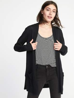 Old Navy Open-Front Long-Line Sweater for Women