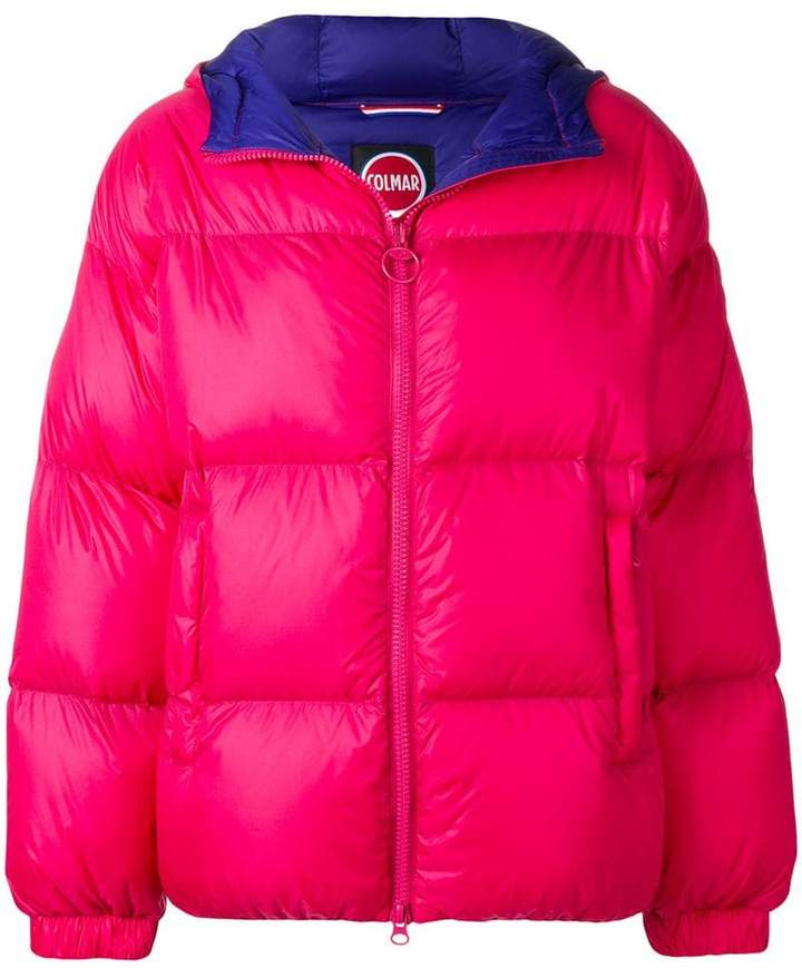 Colmar hooded puffer jacket