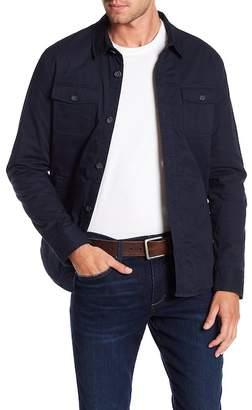 Original Penguin Stretch Four-Pocket Shirt Jacket