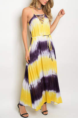 Soieblu Yellow Maxi Dress