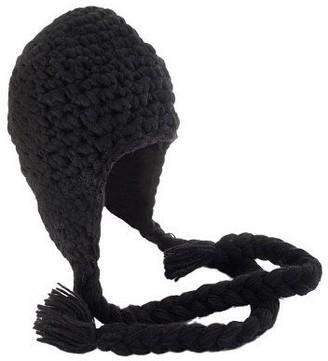 Nirvanna Designs Women's Long Tassel Earflap Hat