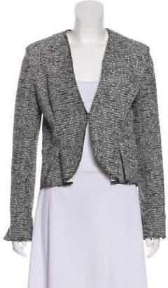 Balenciaga Textured Structured Jacket