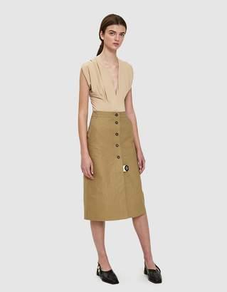Walk Of Shame Open Front Skirt