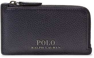 Polo Ralph Lauren Full-Grain Leather Zip-Around Cardholder