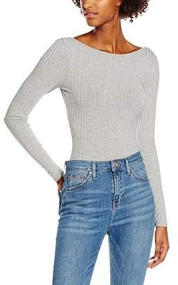 New Look Women's 3817040 T - Shirt, mid Grey