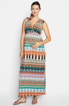 Women's Maternal America Maxi Dress $156 thestylecure.com
