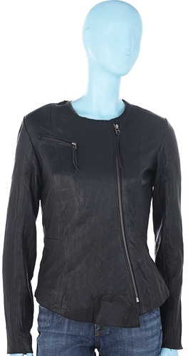 Kate Moss for Topshop Fitted Leather Jacket