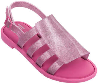 Mini Melissa Mel Boemia Glittered Sandal, Kids