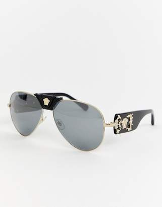 291bd26c31b Versace 0VE2150Q aviator sunglasses with detachable brow