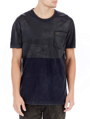 True Religion Two-Tone Coated T-Shirt