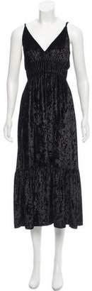 Rebecca Minkoff Velour Sleeveless Dress