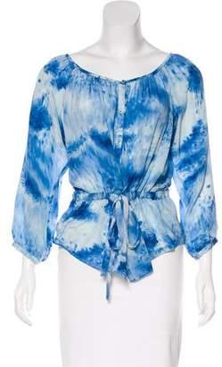 Rebecca Taylor Silk Button-Up Blouse