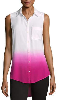 A.N.A Modern Fit Sleeveless Button-Front Shirt