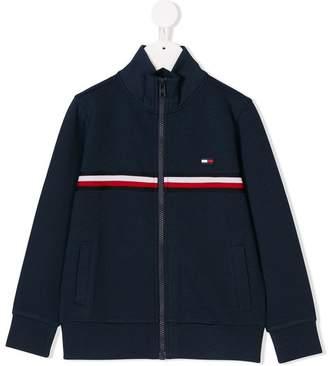Tommy Hilfiger Junior zip-up sweater