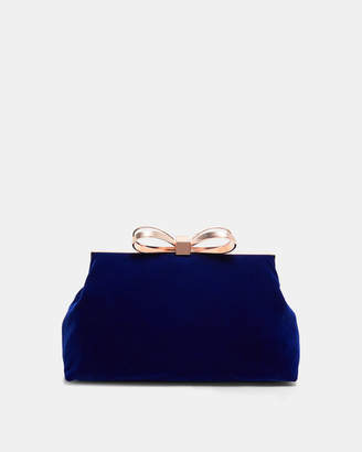 Ted Baker CENA Bow clasp clutch bag
