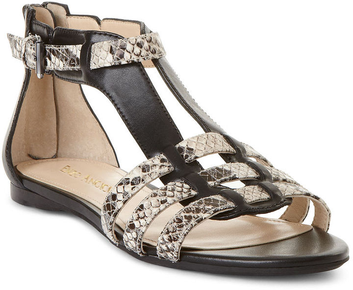 Enzo Angiolini Shoes, Pandi Flat Sandals