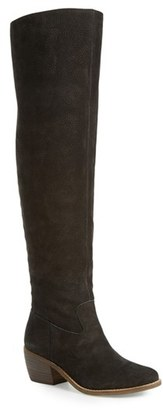 Women's Lucky Brand Khlonn Over The Knee Boot $238.95 thestylecure.com