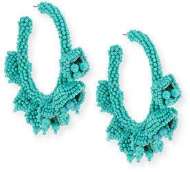 Sachin + Babi Grape Hoop Earrings