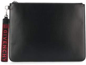 Givenchy logo wrist strap pouch