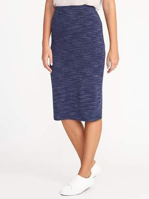 Old Navy Fitted Jersey Pencil Skirt for Women
