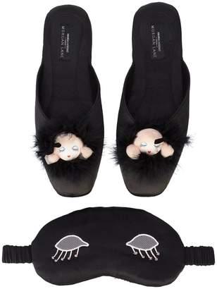 Morgan Lane slippers, mask and robe gift set