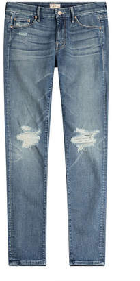 Mother The Looker Distressed Skinny Jeans