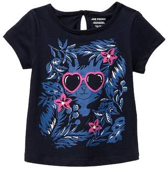 Joe Fresh Printed Tee (Baby Girls)