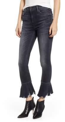 Mother Cha Cha Chew High Waist Flounce Hem Jeans