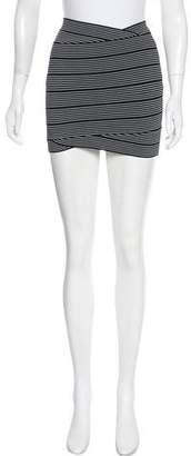 BCBGMAXAZRIA Knit Mini Skirt