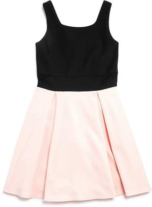 Sally Miller Girls' Ciara Color-Block Knit Dress - Big Kid