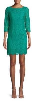 Eliza J Plus Lace Shift Dress