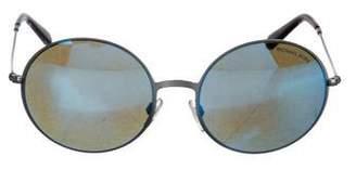 Michael Kors Oversize Round Sunglasses