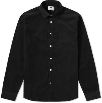 Nn07 NN07 Falko Baby Cord Shirt