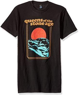 FEA Men's Queens of The Stone Age Red Sun Soft T-Shirt