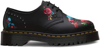 Dr. Martens Rose Fantasy Leather Sneakers