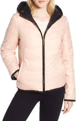 Kate Spade Reversible Quilted Down Jacket