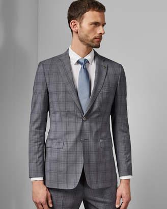 Ted Baker FLYDEBJ Debonair wool check jacket