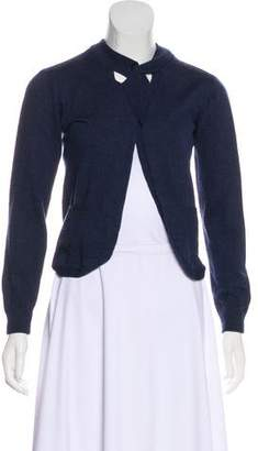 Mayle Merino Wool Knit Cardigan