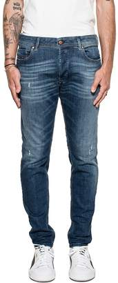 Diesel Dark Blue Sleenker Denim Jeans