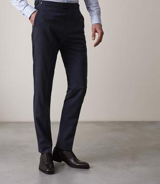 Reiss VOYAGE TRAVEL SUIT TROUSERS Navy