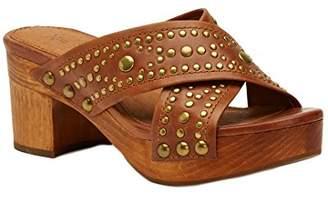 Frye Women's Fiona Deco Slide Platform Sandal