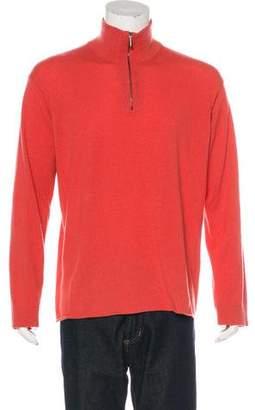 Giorgio Armani Cashmere Zip Sweater